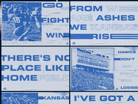 KU Football Posters