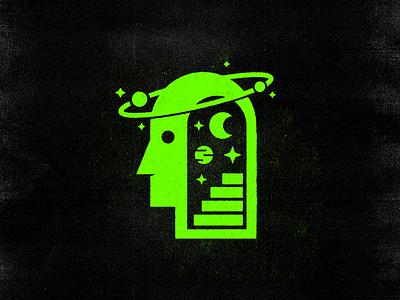 Getting Cosmic aliens alien badges stars moon branding brand cosmic space steps step eye badge illustration icons icon