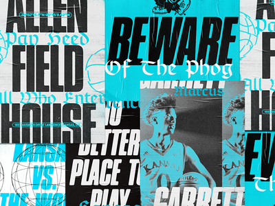Beware of the Phog typography type basketball player basketball kansas jayhawks beware of the phog jayahawks kansas posters poster branding brand