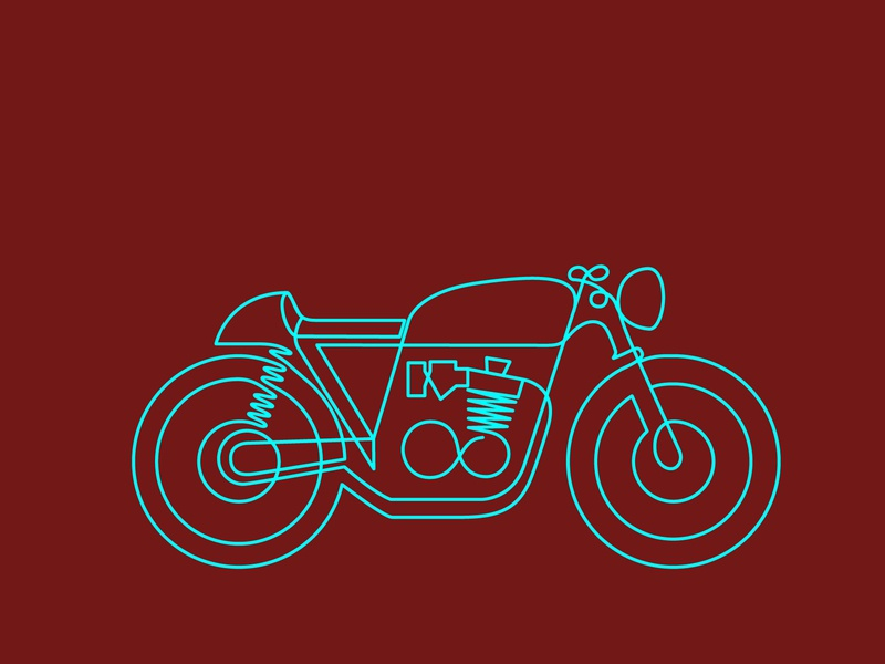 Cafe Racer by ICSD on Dribbble