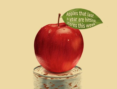 An apple a year