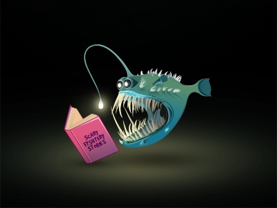What angler fish actually do