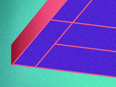 A Slab of Brio gradient geometric abstract lines dithering minimalism minimal