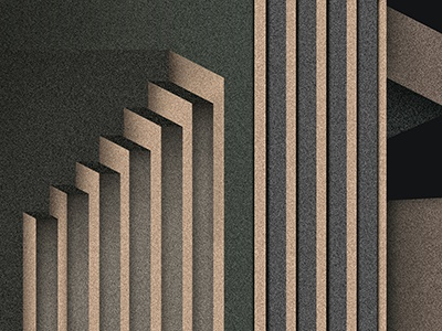 the principle of morality pascal blaise stairs vector gradient geometric abstract lines dithering minimalism minimal