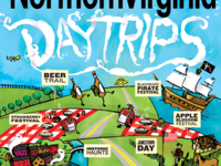 Northern Virginia Magazine cover, Day Trips 2014