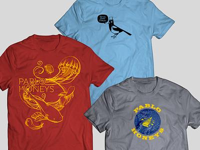 Pablo Honeys T-Shirts t shirt illustration t-shirt design