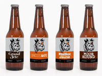 Little Grey Bad Dog Brewery Labels