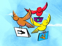 The Bookfinder Birds