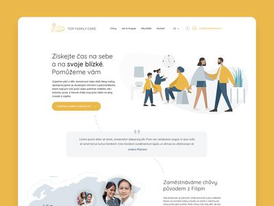 Webdesign for nannies
