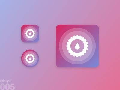 DailyUI 004 - App icon