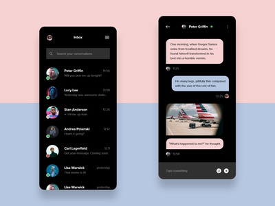 DailyUI 013 - Direct Messaging