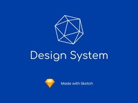 SaaS App Design System - Sketch