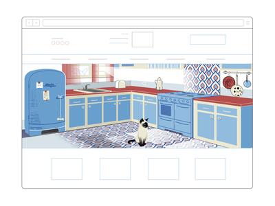 Illustration for web