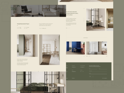 LIS studio project page website portfolio studio minimal modern design colors interior web design webdesign inspiration concept