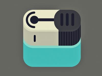 Flat Lighter Icon