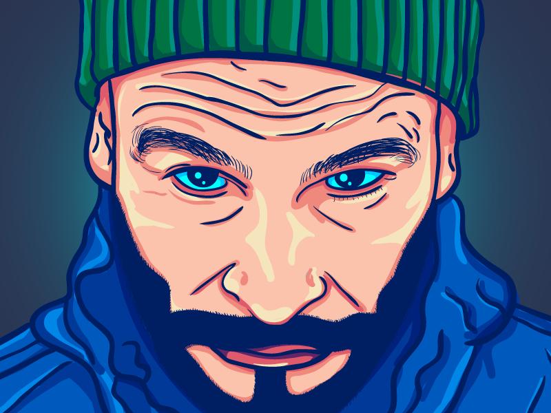 Vector Speed Paint — Fisz intuos wacom illustrator vector fisz