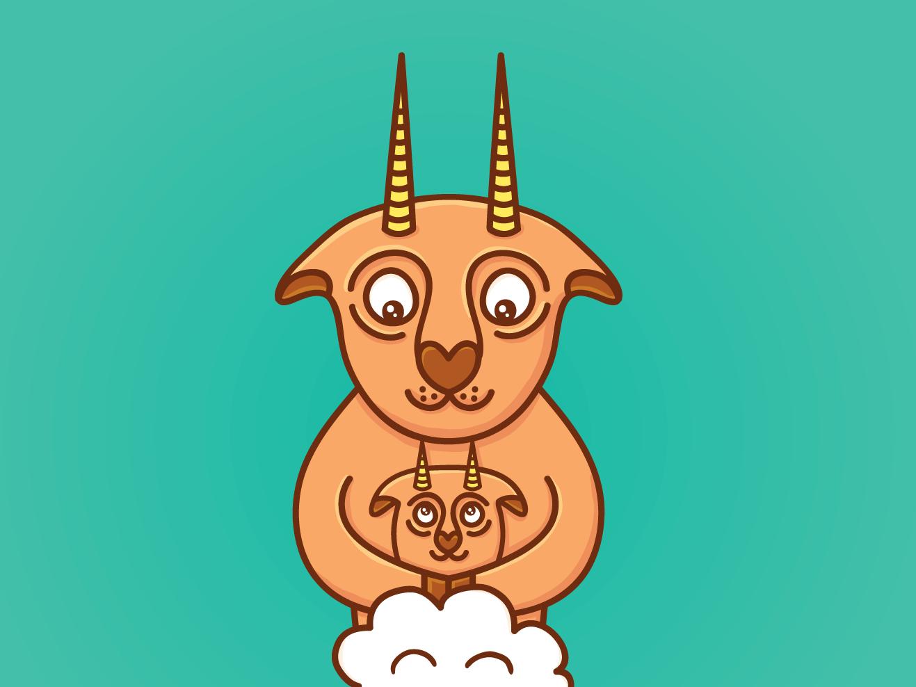 Farting goat fart goat