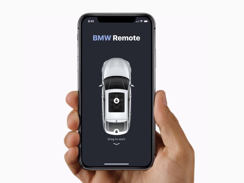 BMW Remote app by Patrick Adiaheno ✌︎ on Dribbble