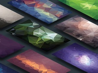 Polygonal Vector Backgrounds