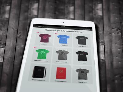 PSD Freebie - iPad Mock-up (Close-up)