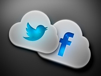Social Cloud Icons