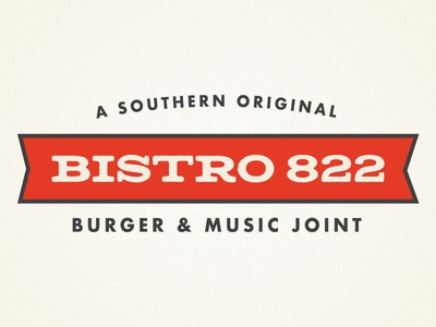 Bistro 822 Logo