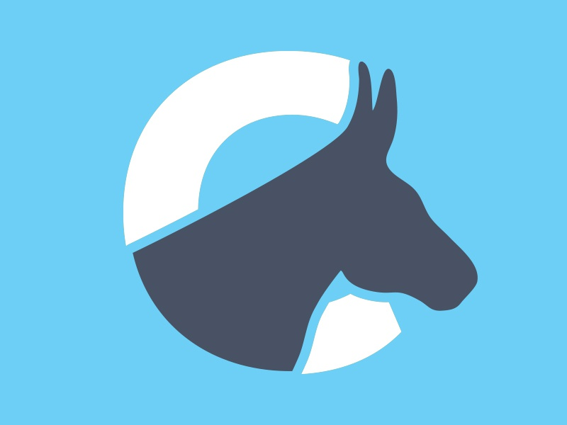 Unused Mule Brand tennessee muletown columbia icon logo c mule