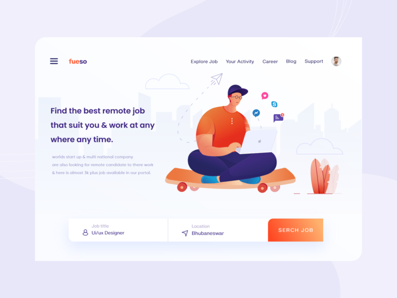 Remote Job Web ui Concept