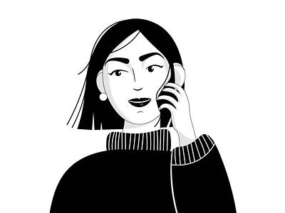 Avatar minimal ui characterdesign flat vector adobe illustrator illustration