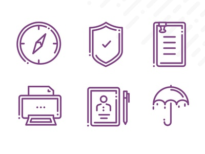 Frontline Icons | Part 4 illustration line icon set icon