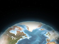 Earth Photoshop Quick Mock
