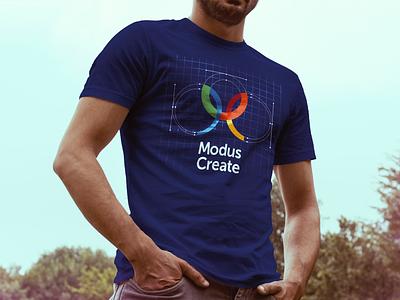 New Modus Create 5 Year Anniversary Shirt process logo shirt tshirt