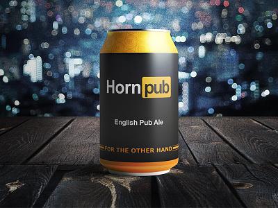 Joke Beer: Horn Pub badwolf brewery bottle beer