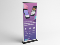 Modus React Banner Stand