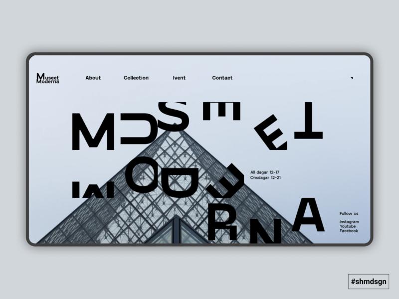 Concept for Moderna Museet