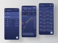 Mobile UI. Crypto trader