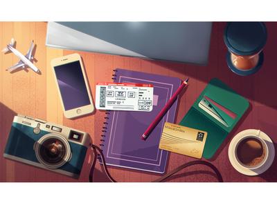 Turkish Airlines Illustrations 10
