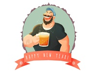 Happy new years from Bluto!