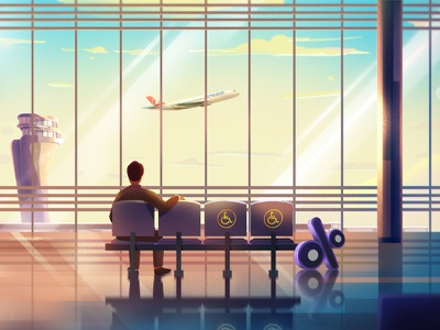 Turkish Airlines Illustrations 06 character design game conceptart nature background art digitalart landscape artwork illustration