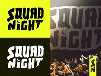 Squad Night - Branding