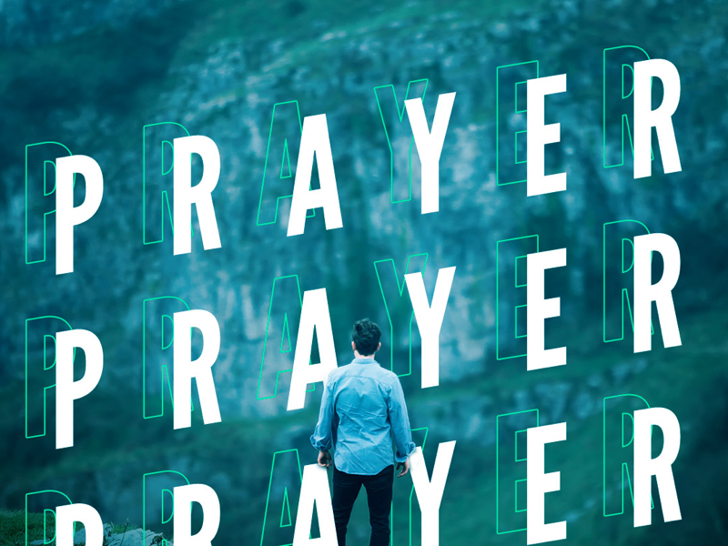 """Prayer"" (part of ""Dare"" sermon series) youth group jesus ministry prayer church"