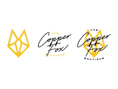 The Copper Fox Boutique - Brand Mark