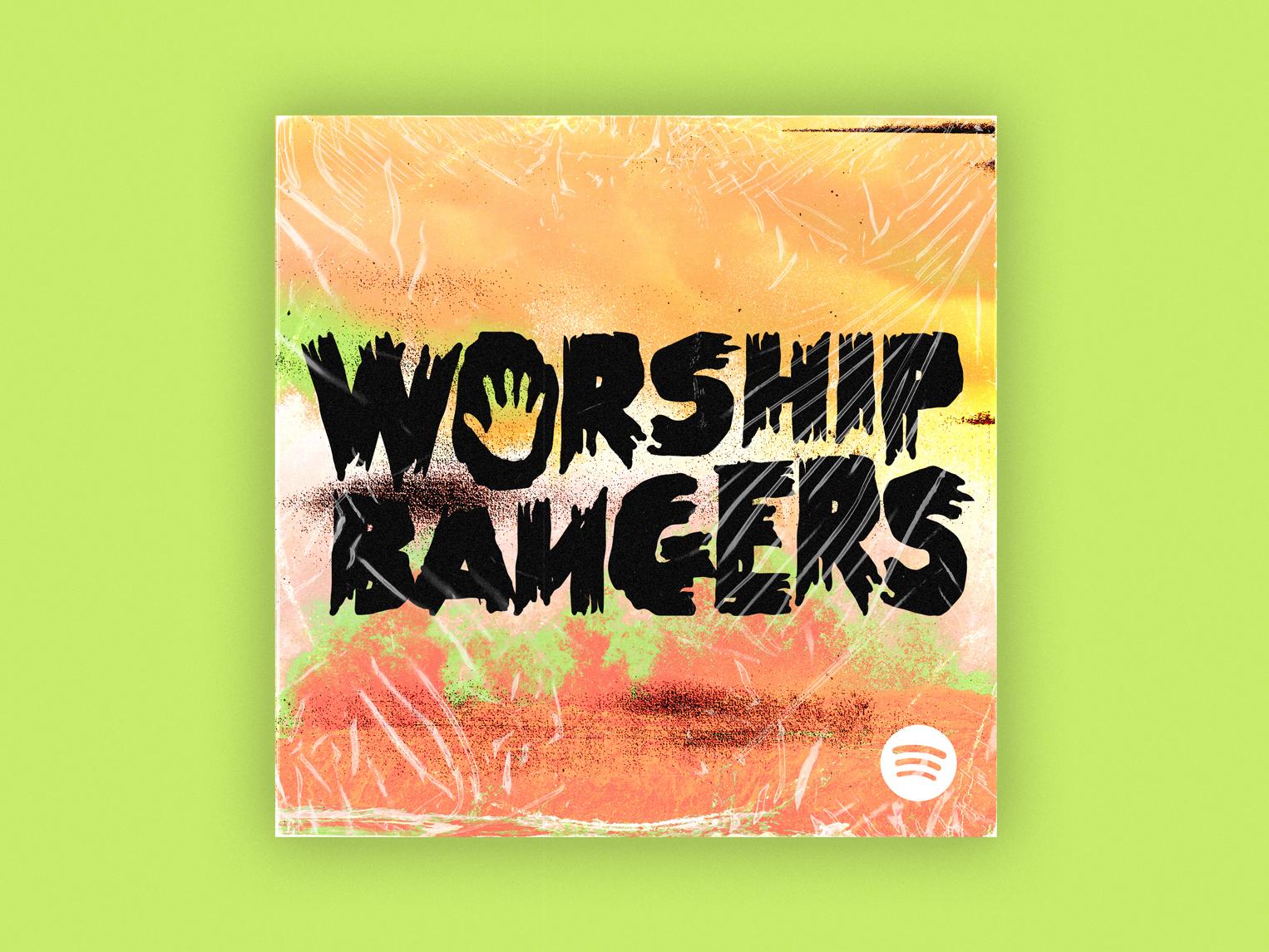 Worship Bangers church jesus worship cover art playlist music spotify
