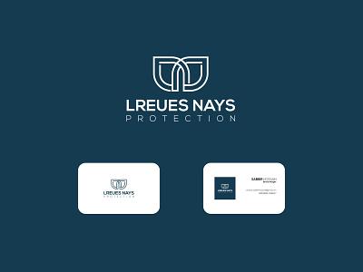 LREUES NAYS PROTECTION branding design logo brand brand design