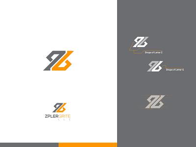 Zpler Grite variation shape agency idenity logo modern grite zipler zipper zip