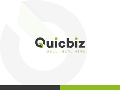 Quicbiz design icon logo