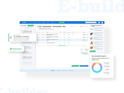 E-builder calculator app calculator construction web application web app app ui design ux ui web minimalist design
