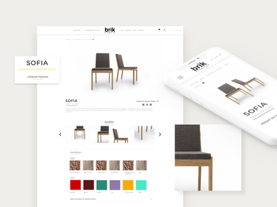 Product page - custom made furniture furniture store furniture website furnitures product page product catalogue product catalog product catalogue catalog furniture website web ui ux design