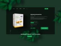 Product page - fit food