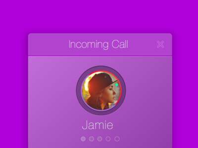 Incoming Call Sketch file